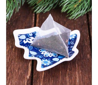 Набор кружка 350 мл, подставка под чайный пакетик «С Новым годом», фото 4