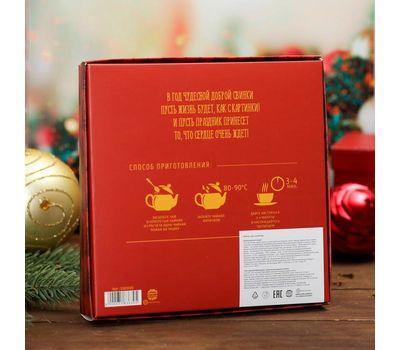 Набор чай чёрный и шоколад «Счастья в новом году», фото 3
