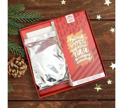 Набор чай чёрный и шоколад «Счастья в новом году», фото 2