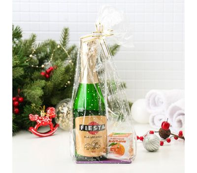 Набор «Новогодний» (Гель для душа Fiesta Asti, 500 мл + Мыло, 140 г), фото 2