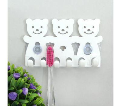 Держатель для зубных щеток на присосках, фото 1