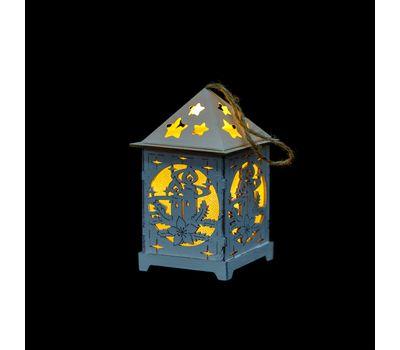 Новогодний светильник-домик, фото 1