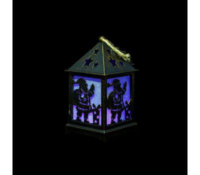 Новогодний светильник-домик, фото 4