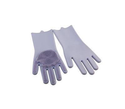 Силиконовые перчатки-щетки, фото 2