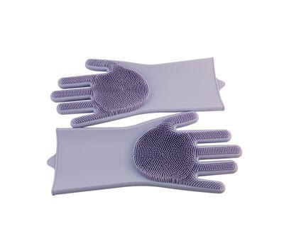 Силиконовые перчатки-щетки, фото 4