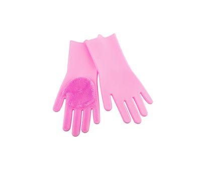 Силиконовые перчатки-щетки, фото 1