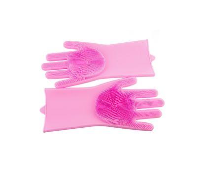 Силиконовые перчатки-щетки, фото 3