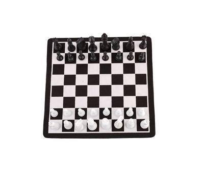 """Набор 2 в 1 шахматы и """"уголки"""" магнитные, в тубе, фото 2"""