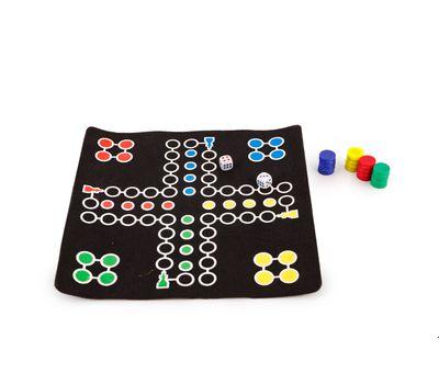 """Набор 2 в 1 шахматы и """"уголки"""" магнитные, в тубе, фото 3"""