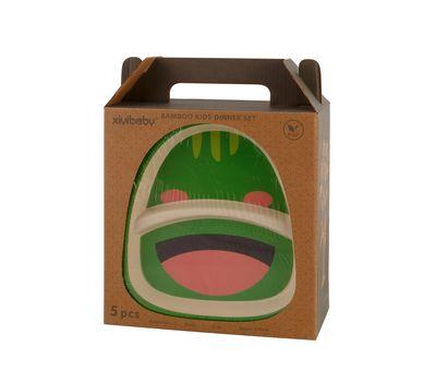 Набор детской посуды из бамбука «Bamboo Kids Set», фото 2