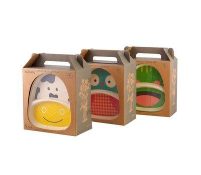 Набор детской посуды из бамбука «Bamboo Kids Set», фото 1