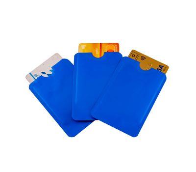 Набор чехлов для банковских карт с RFID-блокировкой (3 шт), фото 1
