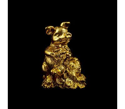 Золотые новогодние статуэтки «На удачу», фото 1