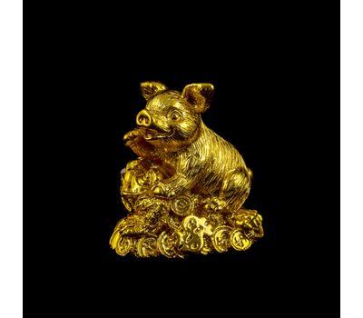 Золотые новогодние статуэтки «На удачу», фото 2
