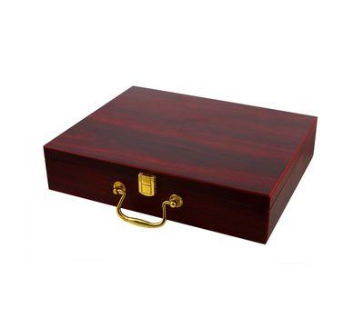Подарочный набор для гольфа в деревянном кейсе, фото 4