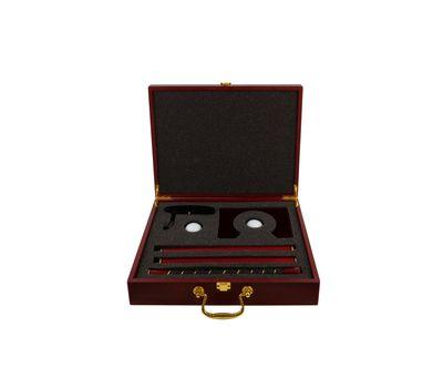 Подарочный набор для гольфа в деревянном кейсе, фото 1
