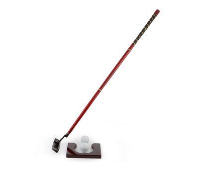 Подарочный набор для гольфа в деревянном кейсе, фото 3