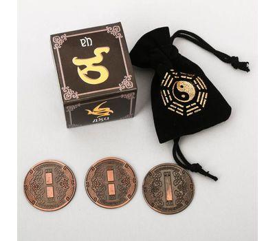 Древнекитайская книга перемен с монетами для гадания, фото 3