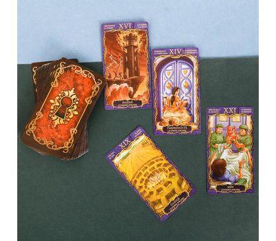 Карты «Таро» в подарочной упаковке 78 карт, фото 4