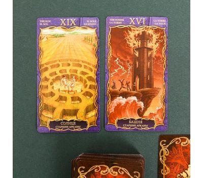Карты «Таро» в подарочной упаковке 78 карт, фото 5