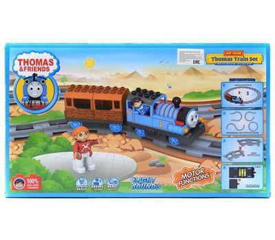 """Конструктор паровозик """"Томас"""" 8908, 20 деталей, фото 1"""