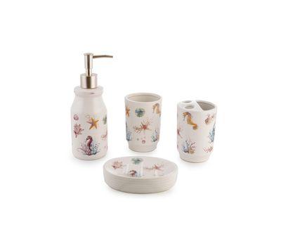 Набор аксессуаров для ванной комнаты (4 предмета), фото 1