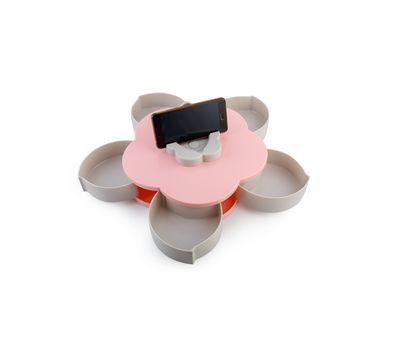 Менажница для сухофруктов с подставкой для телефона, фото 3