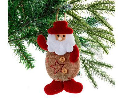 Подвесная новогодняя игрушка «Дед  Мороз», фото 1