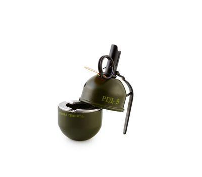 Пепельница-зажигалка в виде ручной гранаты РГД-5, фото 2