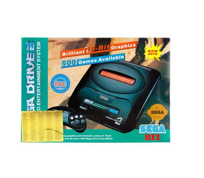 Игровая приставка телевизионная Sega Mega Drive 2, фото 2