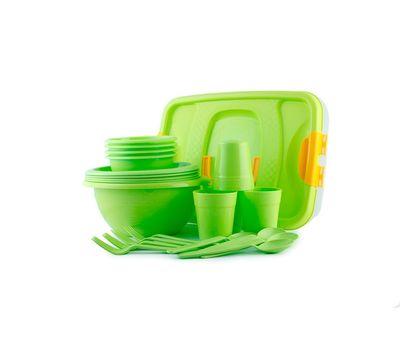 """Набор посуды для пикника """" На лужайке"""", фото 1"""
