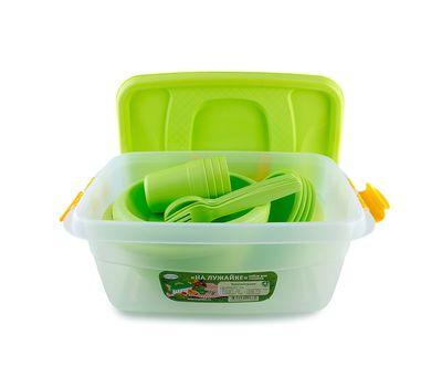 """Набор посуды для пикника """" На лужайке"""", фото 2"""