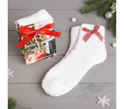 Носки женские махровые «Чудес в Новом году» в открытке, фото 2