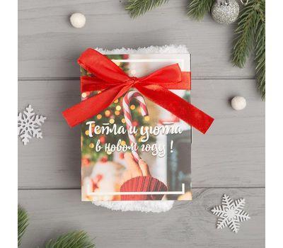Носки женские махровые «Чудес в Новом году» в открытке, фото 3