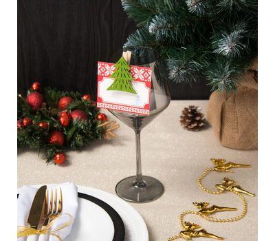 Декор столовый «Новогодний» на прищепке, фото 2