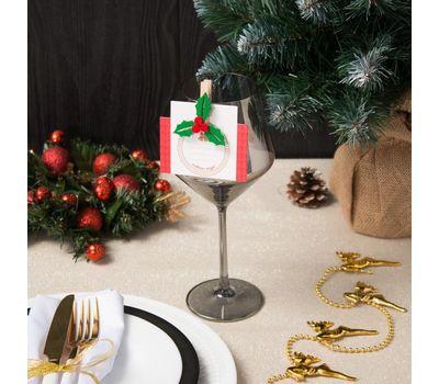 Декор столовый «Новогодний» на прищепке, фото 5