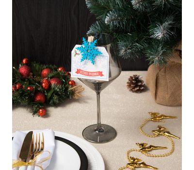 Декор столовый «Новогодний» на прищепке, фото 4