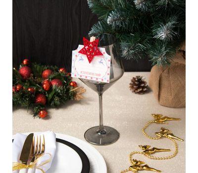 Декор столовый «Новогодний» на прищепке, фото 6