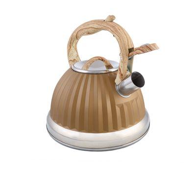 Чайник из нержавеющей стали со свистком А-751F, фото 3