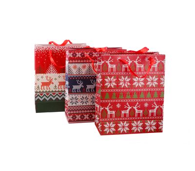 Новогодние подарочные пакеты, фото 1