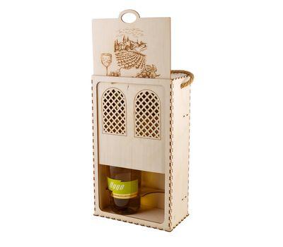 Деревянный кейс для вина, фото 2