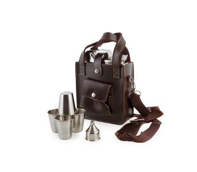 Фляга-канистра в сумке с рюмками YH-53D, фото 1