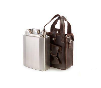 Фляга-канистра в сумке с рюмками YH-53D, фото 2