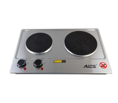 Двухконфорочная электроплитка Aote-5824, фото 1