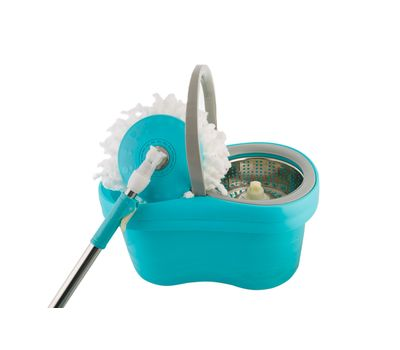 Ведро с металлической центрифугой «Spin mop 360 small pretty waist», фото 1