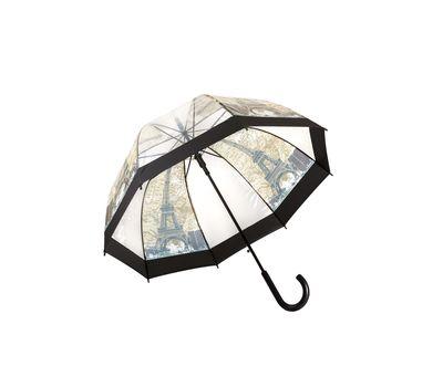 Зонт-трость прозрачный, фото 1