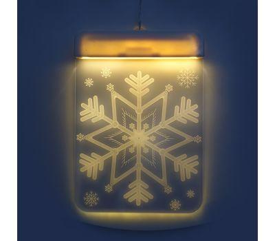 Новогодние 3D светильники 2 шт, фото 1