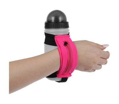 Бутылка спортивная на руку с сумочкой, фото 4