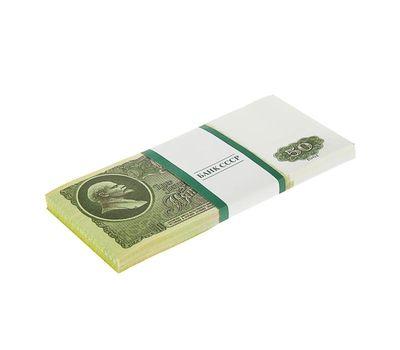 Пачка сувенирных бутафорских купюр СССР 50 рублей, фото 3