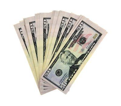 Пачка сувенирных бутафорских купюр 50 долларов, фото 2
